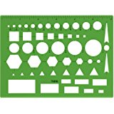 Westcott Technical Drawing Template (T-816)