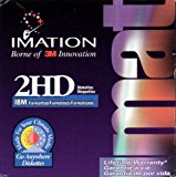 """NEW Imation 25 Pack 2HD 3.5"""" 1.44 Floppy Disks IBM Formatted"""
