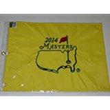 2014 MASTERS Golf Tournament Pin Flag Augusta National Bubba Watson Wins!