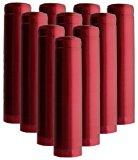 Shrink Capsules 100 Oriental Red Pvc Heat Shrink Caps For Wine Bottles Matte Metallic Finish