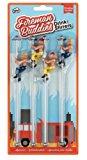 NPW-USA The Original Drinking Buddies, Fireman's Buddies Pole Drink Stirrers