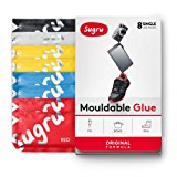 Sugru Moldable Glue - Original Formula - Classic Colours 8-Pack