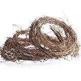 Factory Direct Craft 15 feet of Twistable and Lightweight Grapevine Twig Garland for Holiday and Home Decor