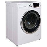 EdgeStar CWD1550W 2.0 Cu. Ft. All-in-One Ventless Washer and Dryer Combo - White