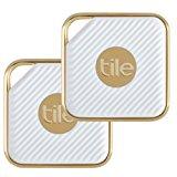 Tile Style - Key Finder. Phone Finder. Anything Finder (Gold) - 1-pack