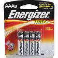 Energizer E92MP8 Max Alkaline Batteries AAA 8 Batteries/Pack ...