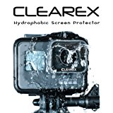 Clearex Hydrophobic Screen Protector for GoPro HERO6 & 5 by Clearex | Water Repellent, Tempered Glass, Ultra-Clear, Anti-scratch, Capture Clearly