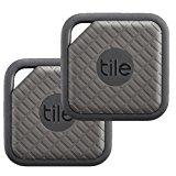Tile - Key Finder. Phone Finder. Anything Finder - 2-pack, Tile Sport (Graphite)