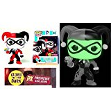POP Harley Quinn Variant Vinyl Figure PX PREVIEWS EXCLUSIVE Glow In The Dark - Funko Toys - UNCIRCULATED Factory Sealed - Box has a crease on the back-see photo