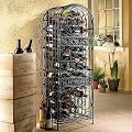 Wine (Red) Enthusiast Companies Renaissance 45 Bottle Wine Rack