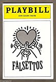 "Keith Haring ""FALSETTOS"" Michael Rupert / William Finn / Chip Zien 1992 Broadway Playbill and Ticket Stub"