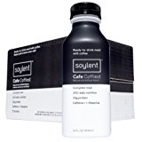 Soylent Meal Replacement Drink, Cafe Coffiest, 14 oz Bottles, Pack of 12