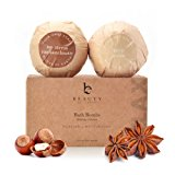 Bath Bomb Relaxing Collection; Organic & Natural Ingredients; Fragrant Aromatherapy Essential Oils & Epsom Salts; Luxurious Fizzing Spa Soak Surprise Gift Idea; Set of 2 Extra Large Bombs 6.5 oz