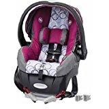 Evenflo Embrace Select Infant Car Seat with Sure Safe Installation, Evangeline Purple