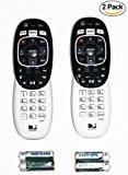 2 Pack - DIRECTV RC73 IR/RF Remote Control