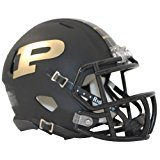 Purdue Boilermakers Riddell Speed Mini Replica Matte Football Helmet
