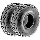 SunF Sport ATV Quad Tires 18x7-7 18x7x7 4 PR A007 (Set pair of 2)