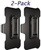 OtterBox Defender Series Holster/Belt Clip for OtterBox Defender Series Case - Apple iPhone 6s/6 Black (Please Read Full item Description) Non-Retail Packaging (2-Pack)