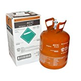 R407C Refrigerant in 25lb Disposable Tank