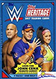 2017 Topps WWE Heritage Wrestling EXCLUSIVE Factory Sealed Retail Box with 7 Packs, RELIC Card & JON CENA Tribute Card! Look for Cards, Autographs & Relics of Sting, Jon Cena, Triple H & Many More!