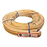 500' Hank of Binding Cane Binder 4 Sizes to Choose From, 4mm 5mm 6mm or 8-10mm for Baskets, Seat Weaving and Wrapping Wicker Furniture 6mm (6mm)
