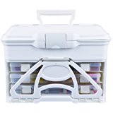 ArtBin Solutions Cabinet- White Craft Storage, 6994AB