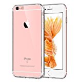 JETech iPhone 6/6s Case Shock-Absorption Bumper Cover Anti-Scratch Clear Back for Apple iPhone 6s and iPhone 6 4.7 Inch (HD Clear) - 0661
