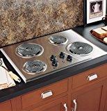 GE JP328SKSS 30 Electric Cooktop - Stainless Steel