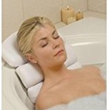 Stock Your Home Luxury Spa Bath Pillow Mat Featuring 3 Panel, Nonslip Jacuzzi Tub Pillow with Suction Cups and Extra Thick Foam Cushion Providing Head, Neck & Back Support for Ultimate Relaxation
