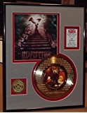 """Led Zeppelin """"Stairway To Heaven"""" Framed 24Kt Gold Record Etched W/ Lyrics Rare Music Memorabilia"""