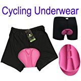 PyLios(TM) Women outdoor sports Bicycle Bike Cycling Underwear Gel 3D Padded Short Pants