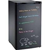 Igloo 3.2 cu. ft. Eraser Board, Flush-Back Design Mini Refrigerator, Model:FR326M-C-Black