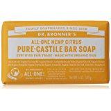 Dr. Bronner's Pure-Castile Bar Soap – Citrus Orange, 5 oz