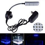 Mingdak® LED Clip Aquarium Lights Kit for Fish Tanks,white & Blue