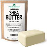 Leomael Naturals Shea Butter Unrefined Raw African Organic Pure Ivory,16 Ounce