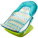 Summer Infant Deluxe Baby Bather, Triangle Stripe