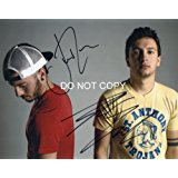 Twenty One Pilots band reprint signed promo 11x14 poster photo by both B - RP