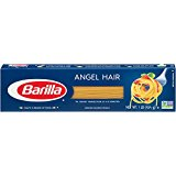 Barilla Pasta, Angel Hair, 16 Ounce (Pack of 20)