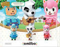 CYRUS, K.K. & Reese Mini Figure 3-Pack amiibo Nintendo Animal Crossing