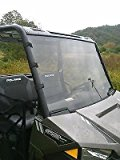 "2015-2016 Polaris Ranger 570 Mid Size ETX Full Front Windshield...A FULL 1/4"" THICK!"