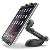 iOttie Easy Smart Tap 2 Universal Car Desk Mount Holder Stand Cradle for iPad Air/4/3/2 iPad Mini/Retina, Galaxy Tab 4/3, Nexus 7, Kindle Fire HD /7/6/ Fire HDX 8.9/7/ Fire 2 - Black