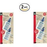 Dritz 1674 Fray Check Liquid Seam Sealant, 0.75-Ounce, 2-Pack (x2)