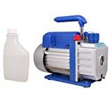 TMS 3 CFM Single-stage Rotary Vane Vacuum Pump R410a R134 Hvac A/c Air Refrigerant