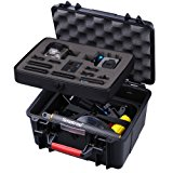 Smatree GA700-2 with ABS materials Floaty/ Water-Resist Hard Case for Gopro Hero 6,5,4, 3+, 3, 2,1-(Camera and Accessories NOT included)