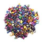 lieomo 600Pcs/200g Home Decoration Art & Crafts Mixed Color shells Mosaic Tiles