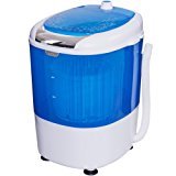 Costway Portable Mini Compact 5.5lbs Counter Top Washing Machine w/ Spin Cycle Basket