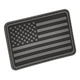 USA Flag (Left Arm) Rubber Patch by Hazard 4(R)