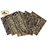 "NEW Vinyl Camo Self Adhesive Assorted Vinyl Sheets (6+1 PACK) | BEST Camoflage Vinyl for Cricut, Silhouette Cameo, Craft Cutters, Plotters, Letters, Decals (Realistic Real Camouflage 12""x12"")"