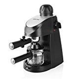 BESTEK 3.5 Bar Steam Espresso and Cappuccino Maker Coffee Machine, Carafe Included