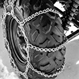 """ATV Tire Chains 10 VBAR Snow Ice Mud Off Road for 23""""x10"""" - 26""""x11"""" Tires 56x17"""